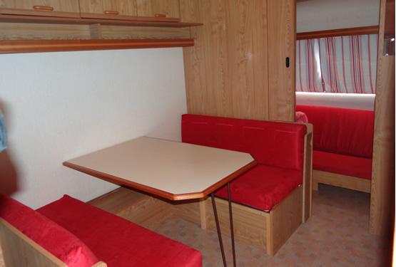 Intérieur caravane